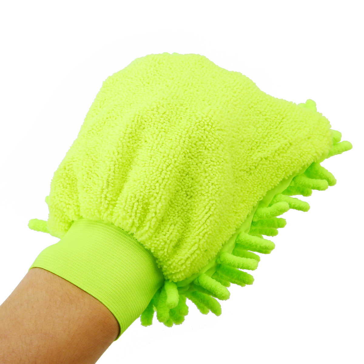 1pcs Microfiber Car Cleaning Clay Detailing Cleaning Glove Ultrafine Microfiber Household Auto Care Washing Cloth