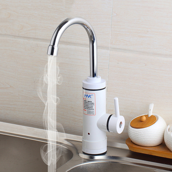 Kitchen  Instant Tankless Electric Hot Water Heater Faucet Instant Heating Tap Water Heater with LED EU Plug