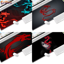 High Quality Rubber Mouse Pad Gamer large size Cool Fashion Mousepad Lock Side Gaming Laptop PC Desk Table Mat Non-slip