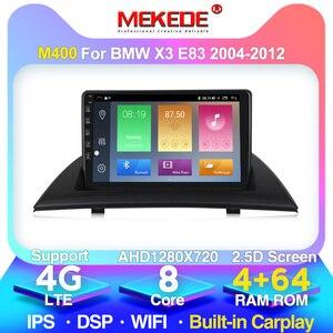 Android 10.0 4G lte For BMW X3 E83 2.0i 2.5i 2.5si 3.0i 3.0si 2.0d 3.0d 2004-2012 Multimedia Stereo Car Navigation GPS Radio