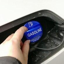 Gasolina diesel decoração do tanque de combustível capa guarnição para vw golf polo jetta passat b8 acessórios