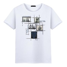 Olevo Large Size S-5XL Sports Bottoming Shirt Short Sleeve T-shirt Print Sailing Men tshirts Fashion Streetwear