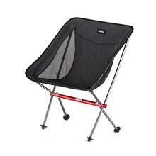 Naturehike YL05 легкий компактный портативный открытый складной пляжный стул рыбалка стул для Пикника Складной стул для кемпинга NH18Y050-Z
