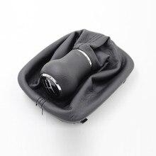 Carro de couro botão de mudança de engrenagem vara gaiter boot substituição kit 5 velocidade para audi a6 c5 (97-04) a4 b5 a8 d2 1997 - 2001