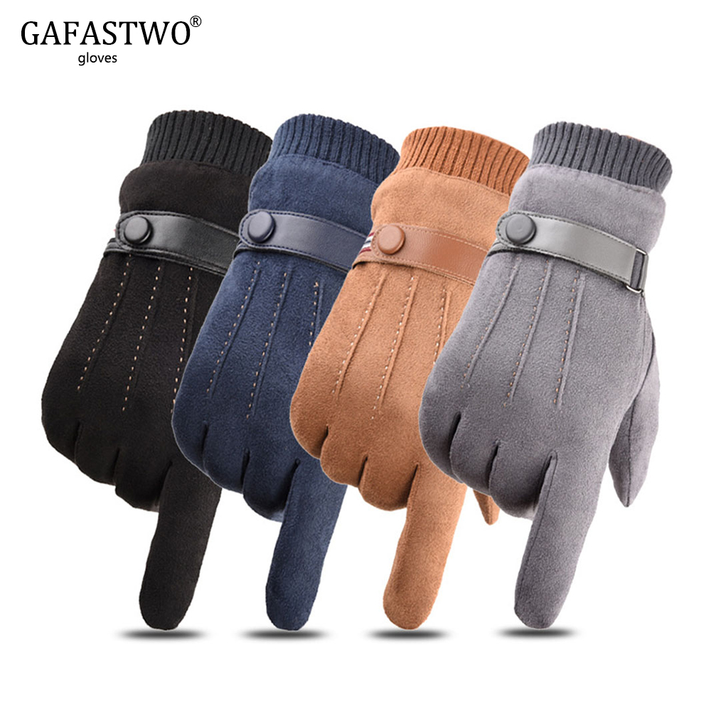 New Arrived Winter Touch Screen Gloves For Men Windproof Comfortable Gloves Winter Keep Warm Women Outdoor Sport Gloves