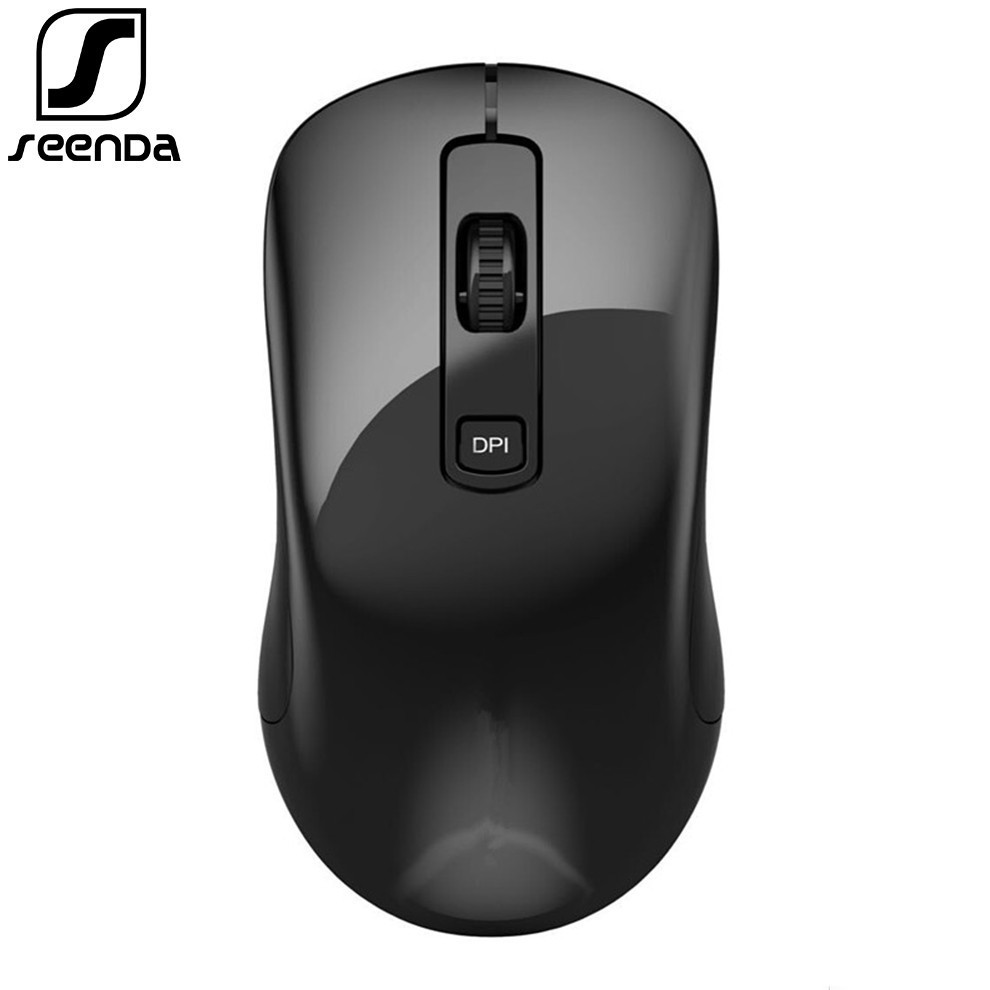 SeenDa New 2.4GHz USB3.0 Nano Receiver Wireless Mouse For Laptop Ergonomic Wireless Mouse PC Mice For Desktop Computer Mause