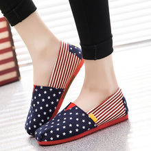 Couple Shoes Loafers Espadrilles Casual Flats Canvas Women Spring Comfortable Summer