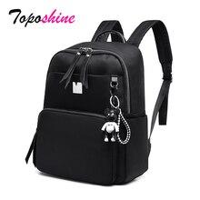 Toposhine Women BackpackS Girsl Backpack School Travel Bags Solid Shoulder for Teenager