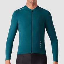 Invierno Майо ciclismo Зимняя Теплая Флисовая футболка с длинным рукавом для велоспорта MTB Джерси для велоспорта
