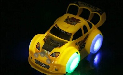 Speed Star Stunning Universal Car CHILDREN'S Toy Car Hair Flashlight Music Non-Remote Control Car