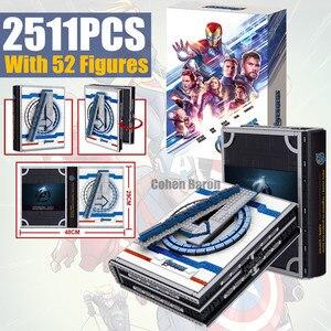 Nieuwe 52 Avengers Cijfers Spiderman Iron Man Collecties Boek Fit Marvel Bouwstenen Bricks Speelgoed Christams Gifts Kid