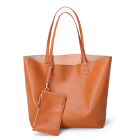 Bags women's 2020 new fashion leather handbag tote header first layer cowhide simple large capacity tote bag shoulder bag female
