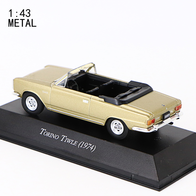 1:43  IXO TORINO TIWLE (1970) METAL CAR PERFECT SIZE AND WEIGHT  COLLECTION GIFT TOY