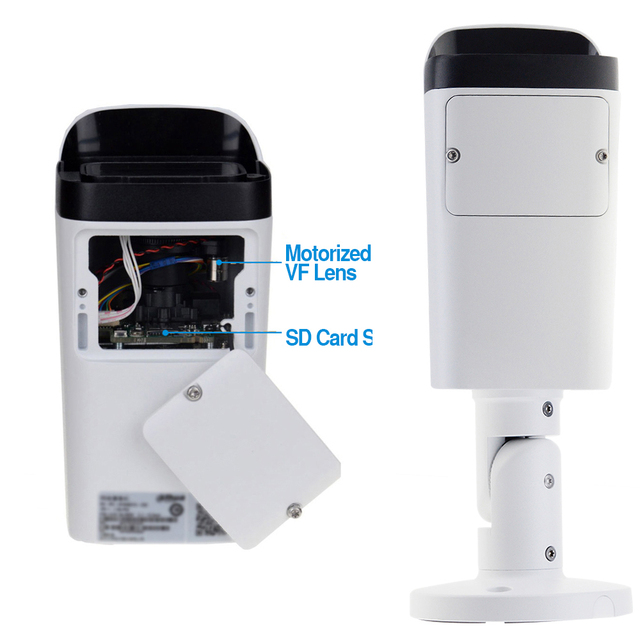Dahua IPC-HFW4631H-ZSA 6MP caméra IP mise à niveau de IPC-HFW4431R-Z intégré Micro fente pour carte Micro SD 5X Zoom caméra PoE