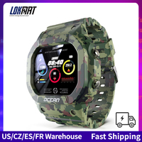 LOKMAT Ozean Smart Uhr Männer Fitness Tracker Blutdruck Nachricht Push Herz Rate Monitor Uhr Smartwatch Frauen Für Android
