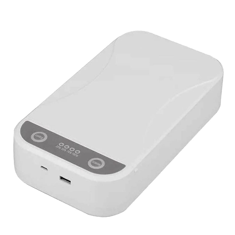 Phone Disinfection Multifunctional UV Portable UV Light Disinfection Box USB Rechargeable For Phone Masks Eye-Glass Key Jewelry