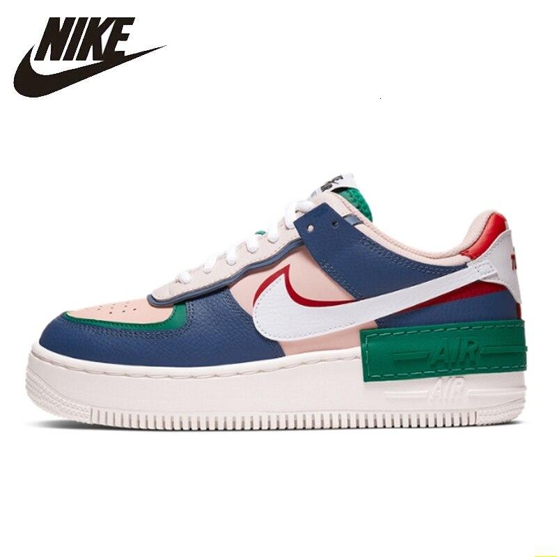 US $79.38 58% OFF|Nike Air Force 1 oryginalny nowy nabytek kobiet buty na deskorolkę Comforbale lekkie sportowe trampki # CI0919 na AliExpress