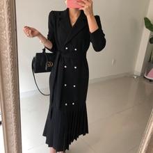 Hepburn style Dress Female elegant vestidos de festa newest