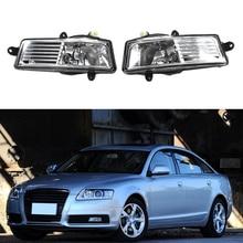 цена на Car LED Fog Lamp For Audi A6 C6 2009-2012 Car-Styling Front Bumper LED Fog Lamp Fog Light Assembly