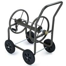 Tuyau d'arrosage enrouleur chariot quatre roues Portable eau tuyau support arrosage chariot voiture lavage tuyau support de rangement