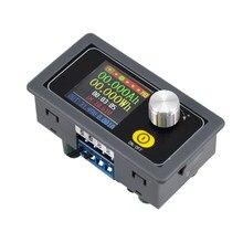 Módulo de alimentação regulado ajustável 0.6-30v 5a do cv do conversor do fanfarrão da c.c. tela colorida do cnc do amperímetro do voltímetro da fonte de alimentação 80w