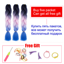 Synthetic Ombre Braiding Hair Extension