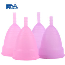 Copo menstrual grau médico silicone feminino higiene copa menstrual senhora feminino período copo de silicone reutilizável copo menstrual