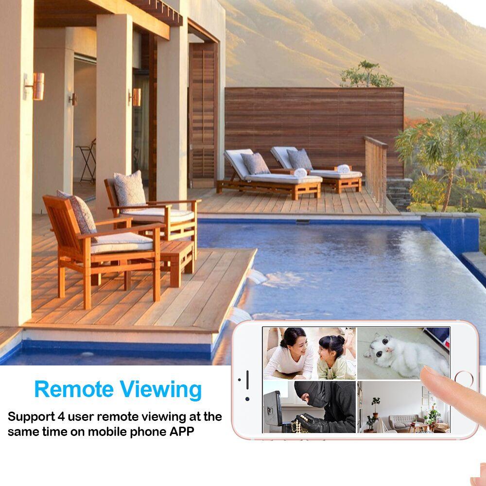 Image 2 - 1080P Wi Fi Wireless Mini Network Camera Surveillance  WIFI Camera  Audio Video Recorder Camcorder Ip Camera  P2P  Micro CamMini Camcorders   -