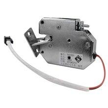 5 adet DC12V Dolap Çekmece Elektrikli Manyetik Kilit Elektromıknatıs Arıza Güvenli Kapı Erişim Kontrol Sistemi için (Tespit anahtarı)