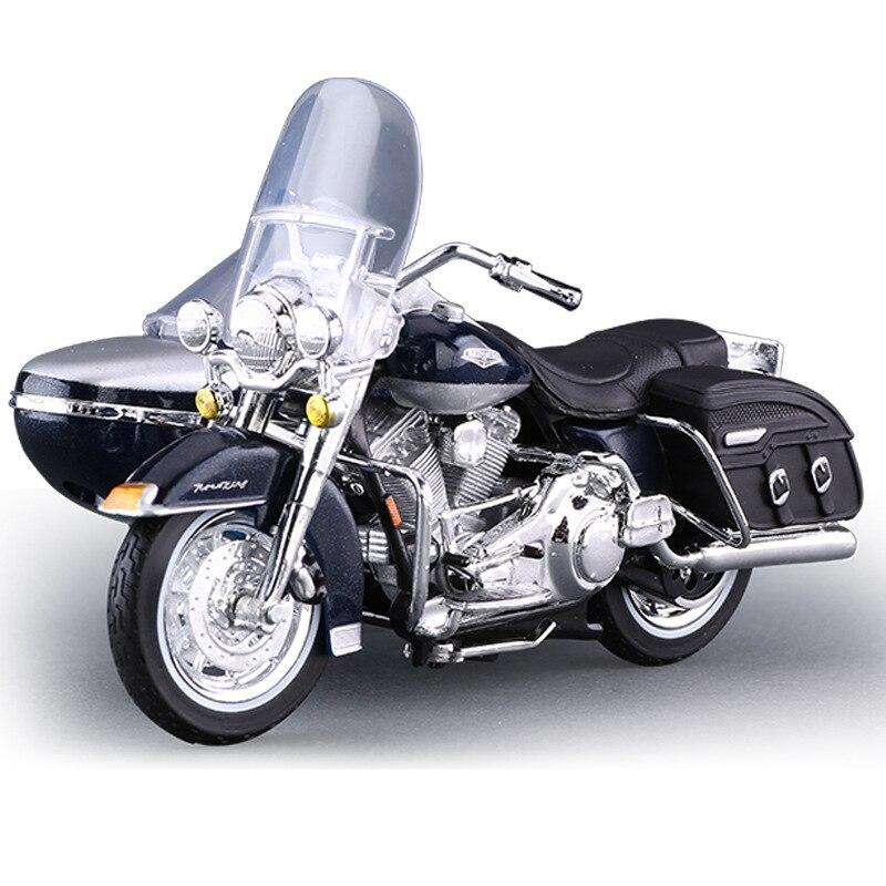 METAL Scala 1:18 MAISTO 32420 Harley-Davidson Three-Wheled 1952 FL Hydra Glide