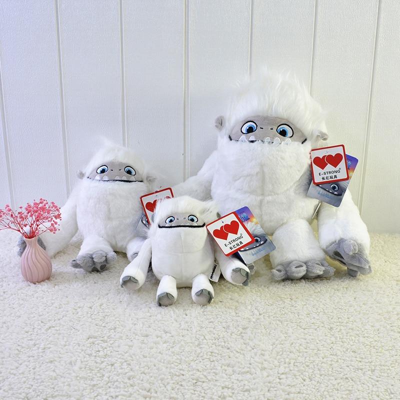 Abominable Snowman Everest Yeti Toy Plush Doll Pillow Soft Kawaii Stuffed Girls Christmas Gift Children Carnival Accessories