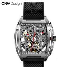 Dla Xiaomi CIGA Design Z Series mechaniczne zegarki na rękę moda luksusowe zegarki zegarek podwójny pasek sztuczny Sapphire Crystal20