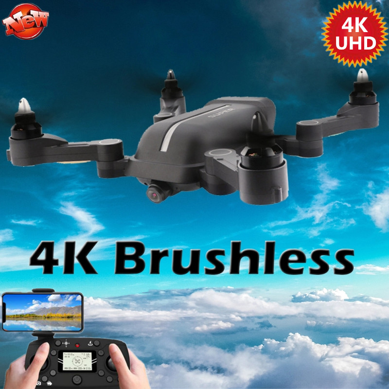 2020 S3 brushless Quadcopter Folding 5G 6Axis Gyro Wifi FPV Drone With 4K UHD Camera RC Helicopter Selfie WIFI FPV GPS RC Drone image