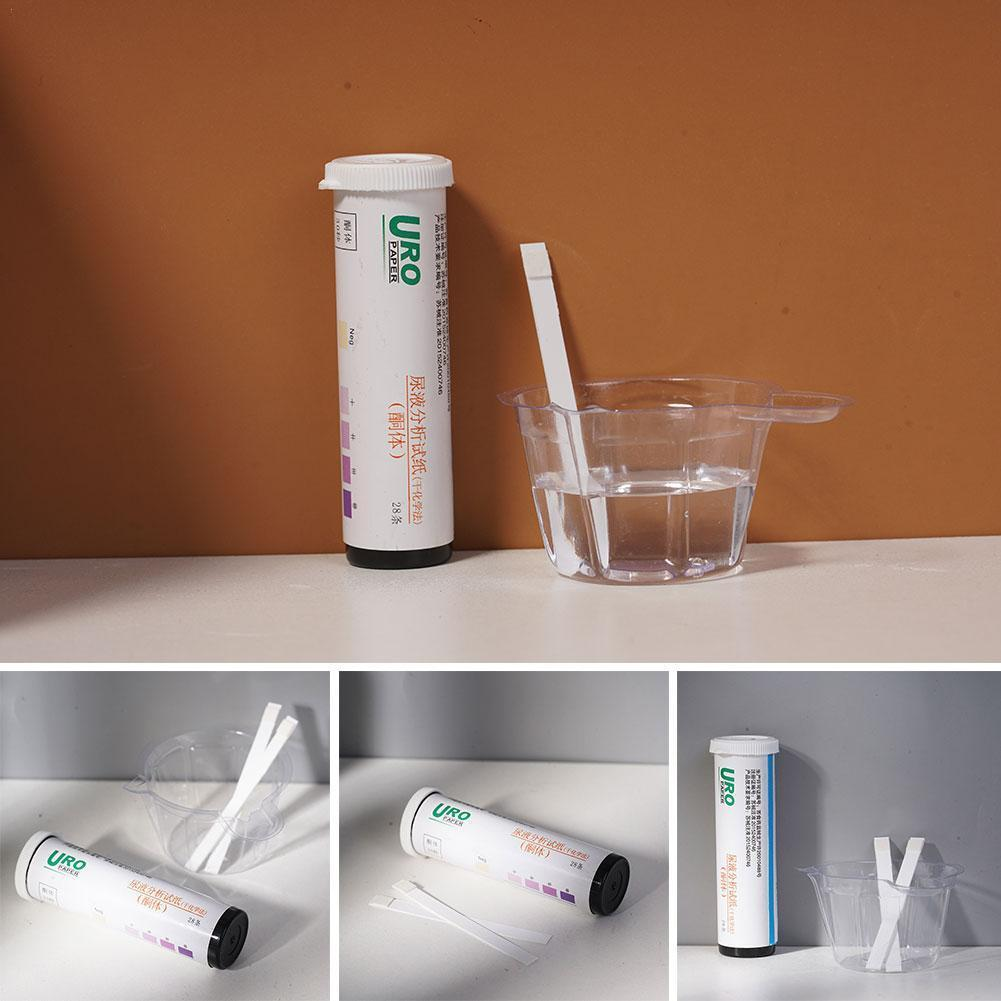 Urine Strips Home Ketosis Urine Urinary Test Diet Weight Diet Strips Keto Healthy Analysis Lose Body Tester M4Y8