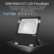 Miboxer 20W RGB+CCT LED Flood light Waterproof IP65 FUTT04 Outdoor lamp For Garden building Grassland lighting AC100~240V