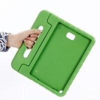 Para Samsung Galaxy Tab A 6 A6 10 1 con estuche versión s pen para niños P580 P585 soporte de mano seguro para niños funda para tableta EVA SM P580|Fundas de tablets y libros electrónicos| |  -