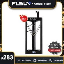 3D yazıcı Flsun QQ S PRO Delta Kossel otomatik seviye yükseltilmiş devam ön montaj TFT 32bit kurulu impressora 3d Drucker
