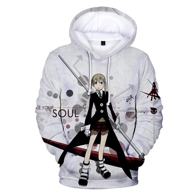 SOUL EATER THEMED 3D HOODIE