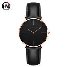 Hannah Martin Top Brand Fashion Ladies Watches Leather Water