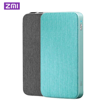 ZMI 10000mAh Power Bank QC3.0 PD Type-C Two-Way Quick Charge 18W External Battery For Mi 9 iPhone Mobile Phones