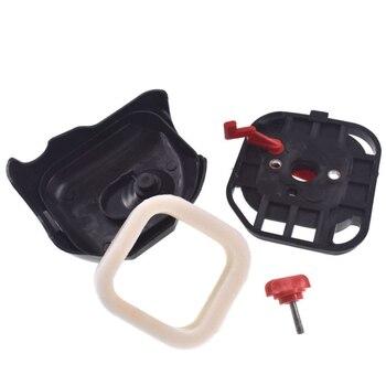 Oczyszczacz filtra powietrza W/pokrywa wymień na Zenoah G26LS Strimmer kosiarka 25.4cc części do czyszczenia akcesoria
