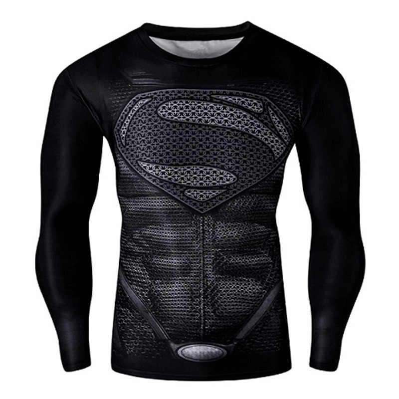圧縮シャツワークアウトトレーニングフィットネス男性コスプレrashgardプラスサイズのボディービルtシャツ3Dプリントスポーツ男性の場合トップス
