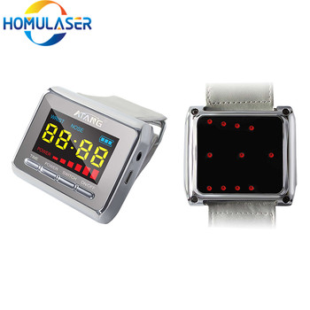 Diatetic Watch Laser Acupuncture Physiotherapy Hypotensive Blood lipids Sugar Diabetes High Blood Pressure Sugar Hypertension