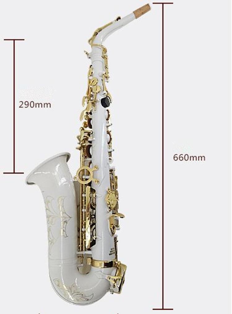 Nouvelle haute qualité Alto Saxophone saxo professionnel E plat Saxofone Instruments de musique performances étui gratuit - 2