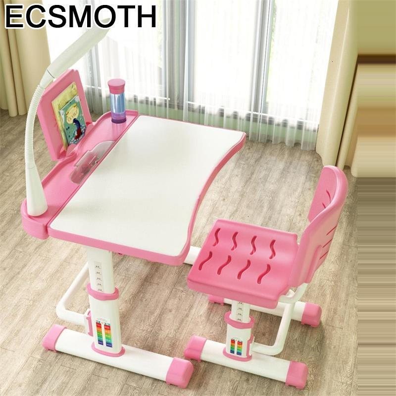 Estudo Toddler Pupitre Baby Child Kindertisch Escritorio Children And Chair Adjustable Enfant Mesa Infantil Study Table For Kids