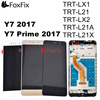 For HUAWEI Y7 2017 LCD Display Touch Screen Digitizer Y7 Prime 2017 LCD With Frame TRT L21 TRT LX2 TRT L21A TRT L21X TRT LX1