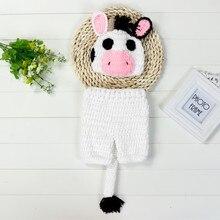Новорожденный вязаное крючком для детей одежда короткий костюм Фотография реквизит наряд удобные милые мягкие модные шорты для маленьких мальчиков и девочек