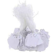 Cadena de brida con etiqueta en blanco, 24x14mm, 300 Uds.