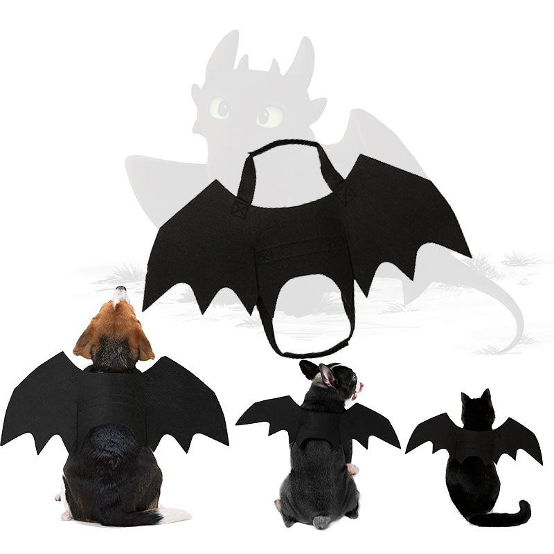 Toothless Cosplay Costume Dog Costume How To Train Your Dragon Dress Dog Like Toothless Pet Halloween Christmas Dog Cat Cos Gift
