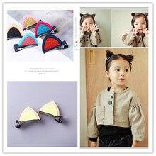 Cute Hairpins-Ornament Hair-Clips Felt-Fabric Ears Glitter Bunny Girls Children for Lovely